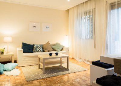 Home Staging piso de herencia semi amueblado en Ventas – Madrid