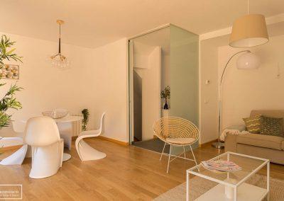 Home Staging chalet piloto con muebles de compra en Ávila