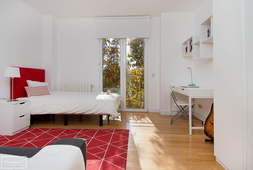 Home staging de una propiedad de alto standing en la urbanización el Golf en Las Rozas en la comunidad de Madrid