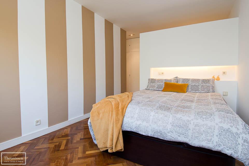 Lavado de cara de este magnifico dormitorio principal sutuado en una urbanización de alto standing en la zona de Puerta de Hierro de Madrid