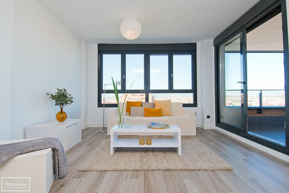 HS piso piloto con muebles efímeros de alquiler en Montecarmelo – Madrid