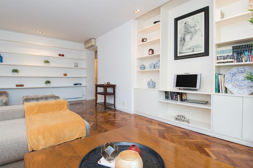 Acondicionamos este piso destinado a su alquiler en la zona alta Puerta de Hierro de Madrid