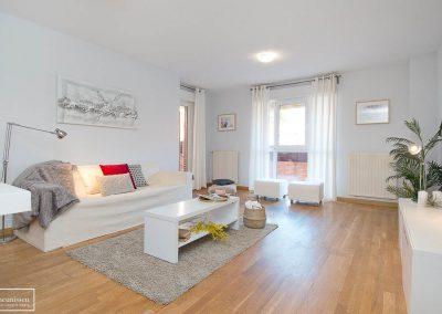 HS en piso vacío de herencia con muebles efímeros de alquiler en Colmenar Viejo – Madrid