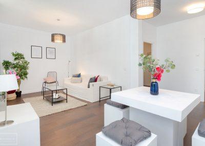 Home Staging con muebles efímeros de alquiler – piso centro de Madrid