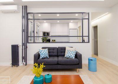 HS piso piloto con muebles de alquiler Theunissen en Chamberi – Madrid