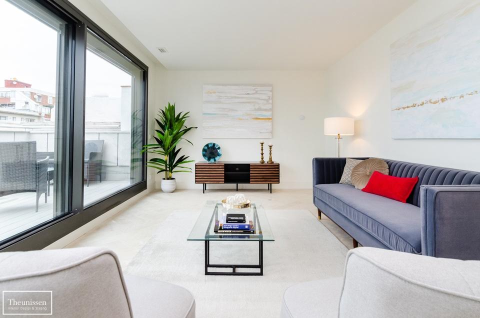 Home Staging piso piloto con muebles de alquiler en barrio Salamanca – Madrid