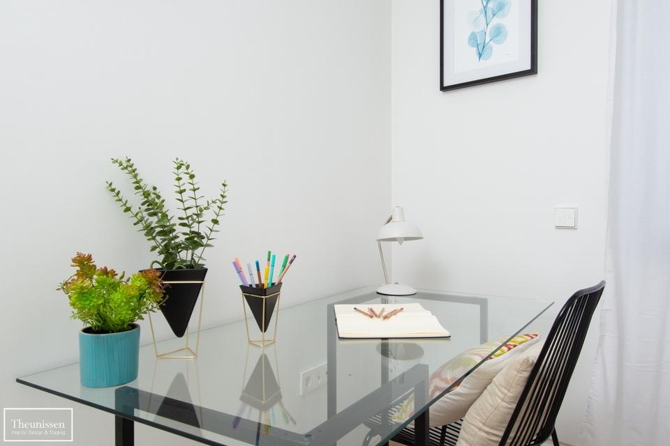 detalle home staging dormitorio piso piloto