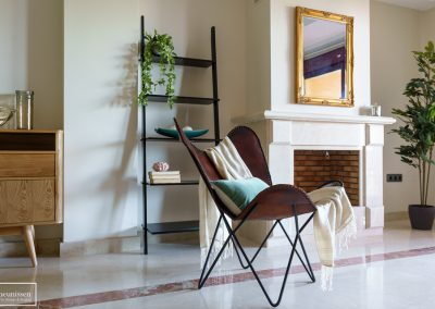 Home Staging vivienda vacacional con muebles de compra en Marbella