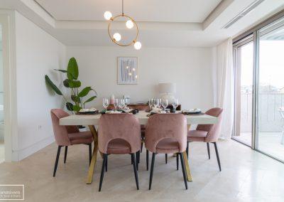 Home Staging piso piloto con muebles de alquiler en Chamartin – Madrid