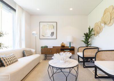 Home Staging para piso piloto con muebles de alquiler en zona prime – Madrid