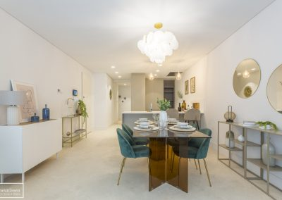 Home Staging en piso piloto con muebles de alquiler – Madrid